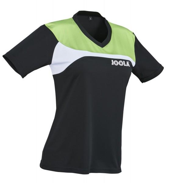 Joola Shirt Lady PADOVA - schwarz-grün