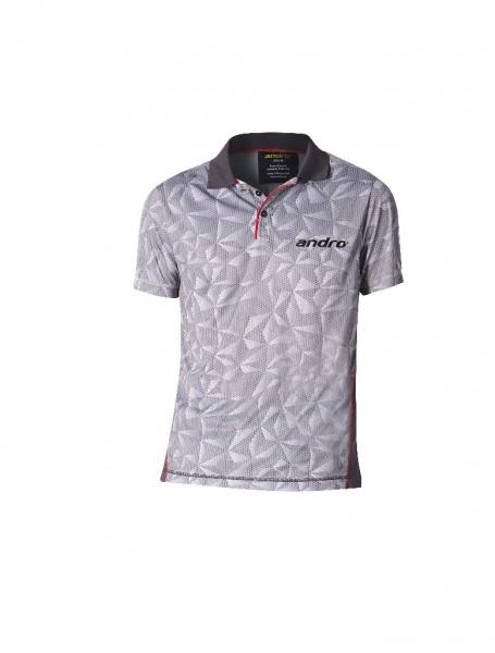 andro® Poloshirt Riley - grau