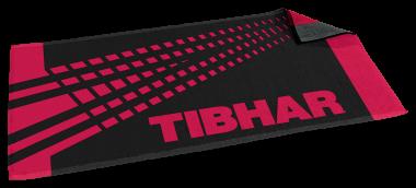 Tibhar Handtuch Spectra 100x50cm - schwarz/rot