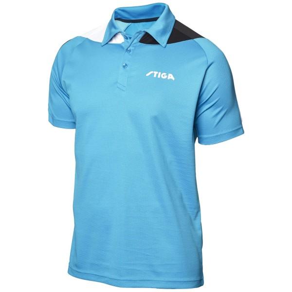 Stiga Shirt PACIFIC - blau-schwarz-weiß