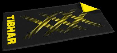 Tibhar Handtuch TripleX schwarz/gelb