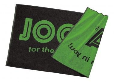 Joola Badetuch schwarz/grün 70x140cm - schwarz/hellgrün