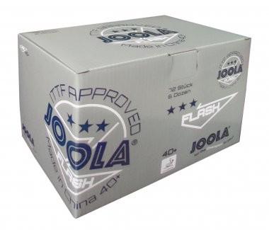 Joola *** Ball Flash 40+ 72er nahtlos 72er Pack - weiß