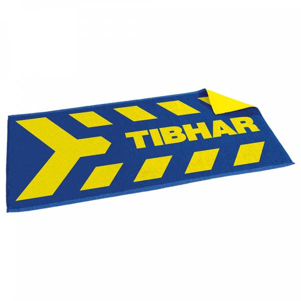 Tibhar Handtuch Arrows - blau/gelb