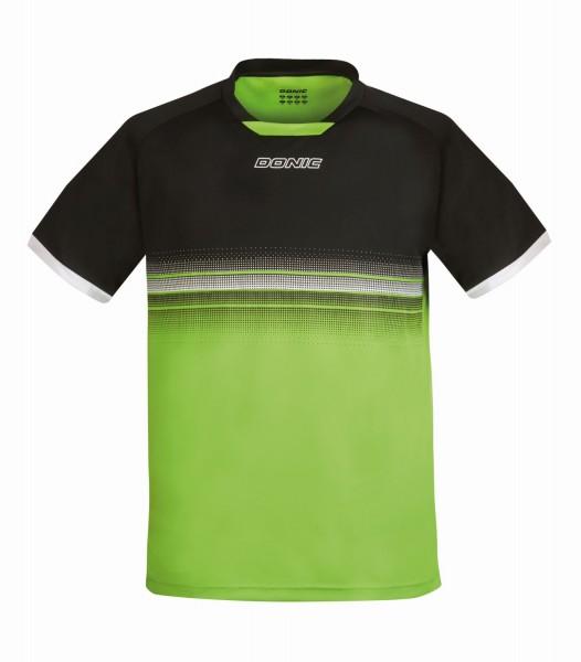 Donic T-Shirt TRAXION - schwarz-limegrün