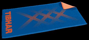 Tibhar Handtuch TripleX blau/orange