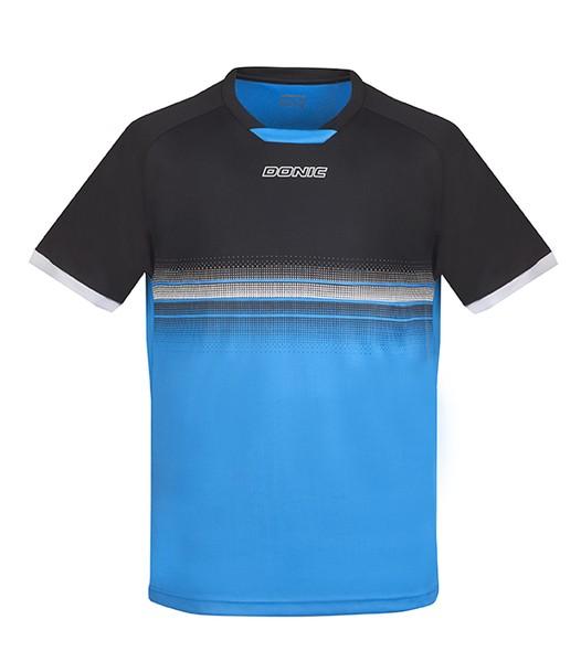 Donic T-Shirt TRAXION - schwarz-divablue